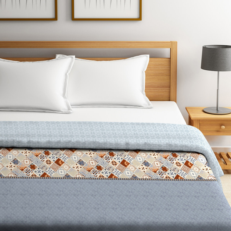 PORTICO NEW YORK Mosaics King Size Comforter - 224 x 274 cm