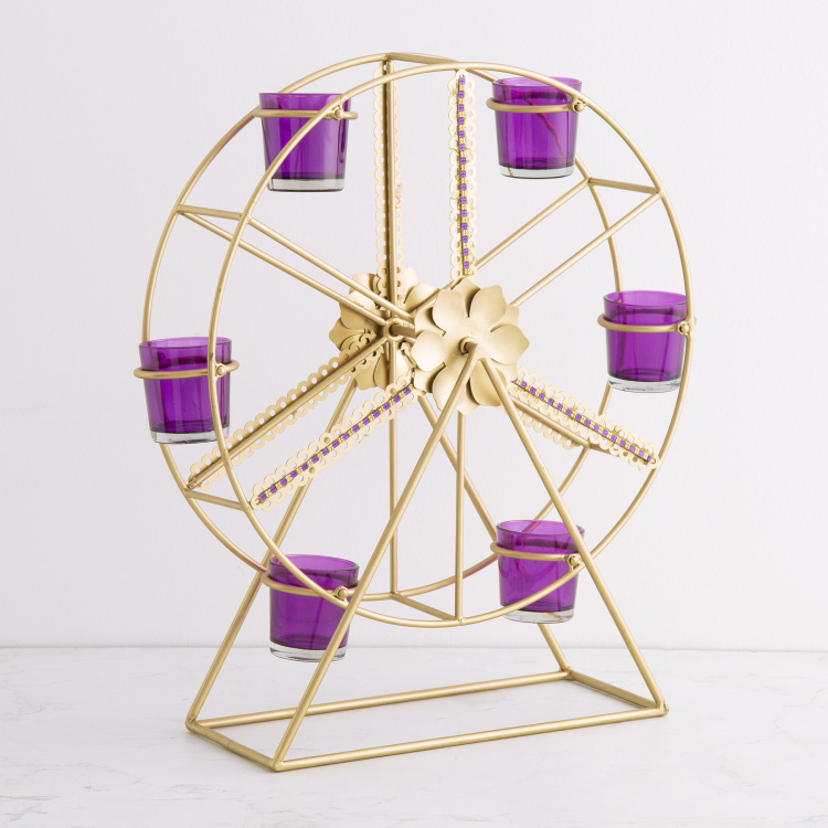 Selene Giant Wheel Votive Holder