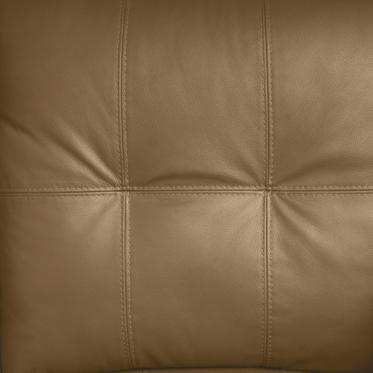 Vista Two Seater Half Leather Sofa