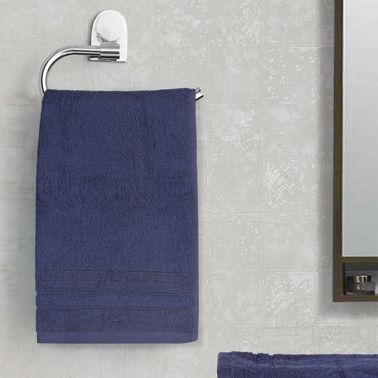 SPACES Bamboo Charcoal Textured Hand Towel - Set of 2 - 40 x 60 cm