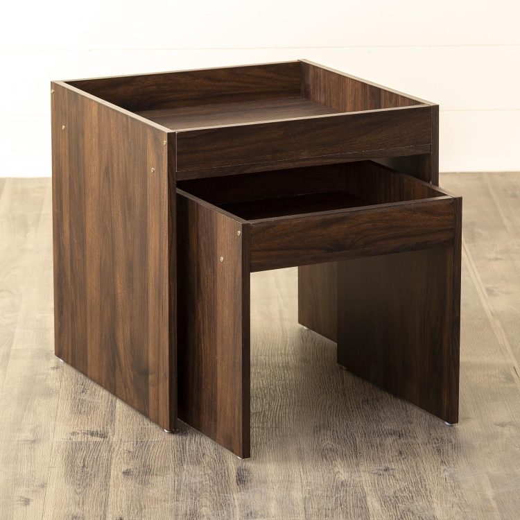 Lewis Solid Accent Table- Set of 2