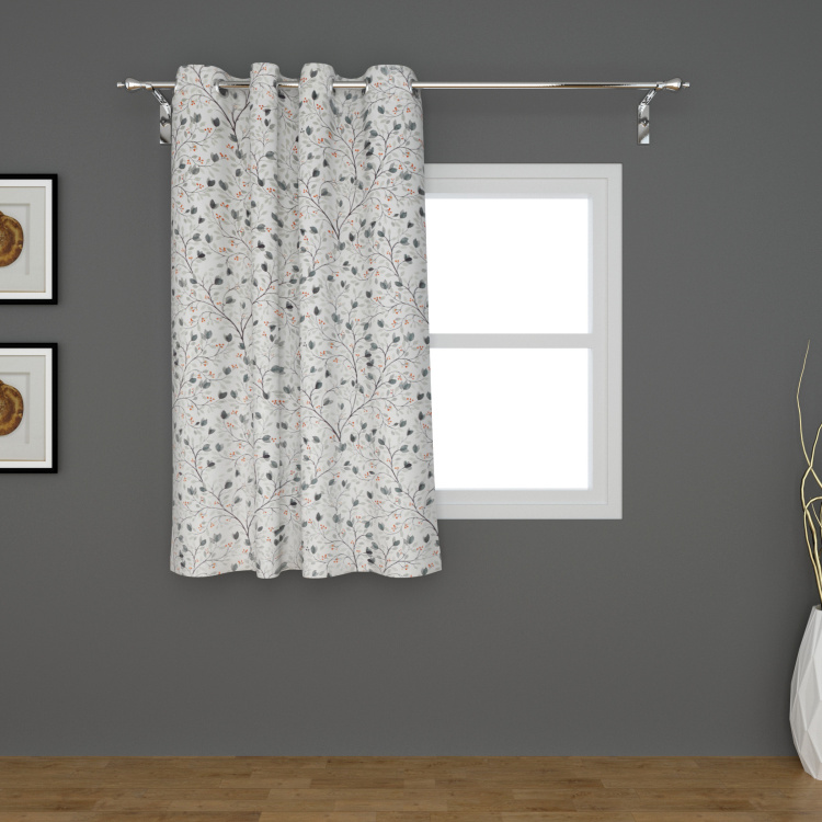 Lavish Printed Semi-Blackout Window Curtain - 135 x 160 cm