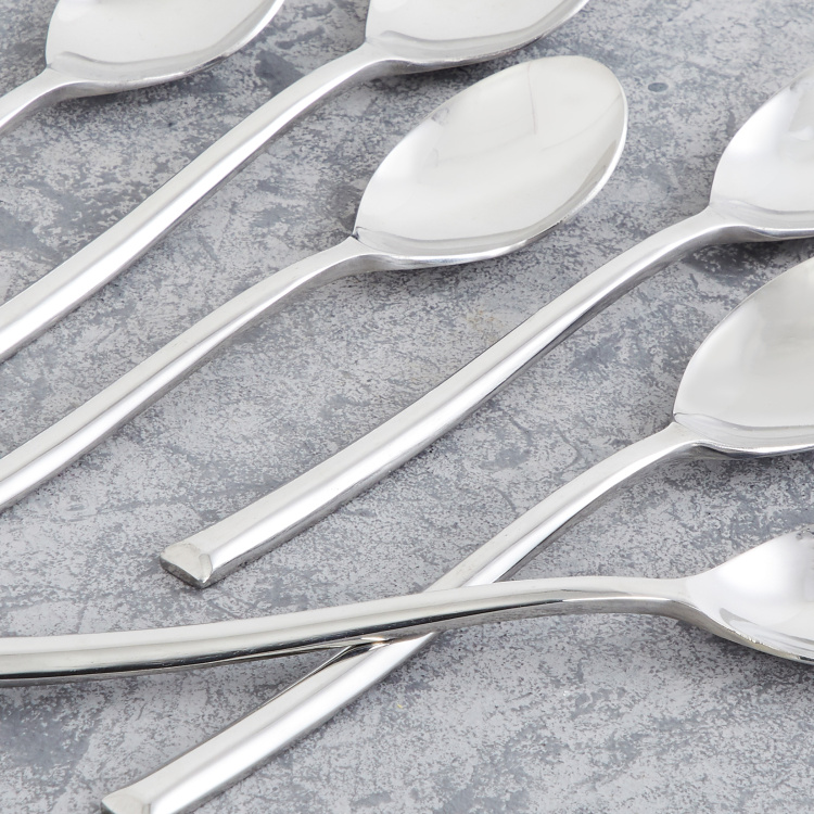 FNS 6-Piece Dessert Spoon Set