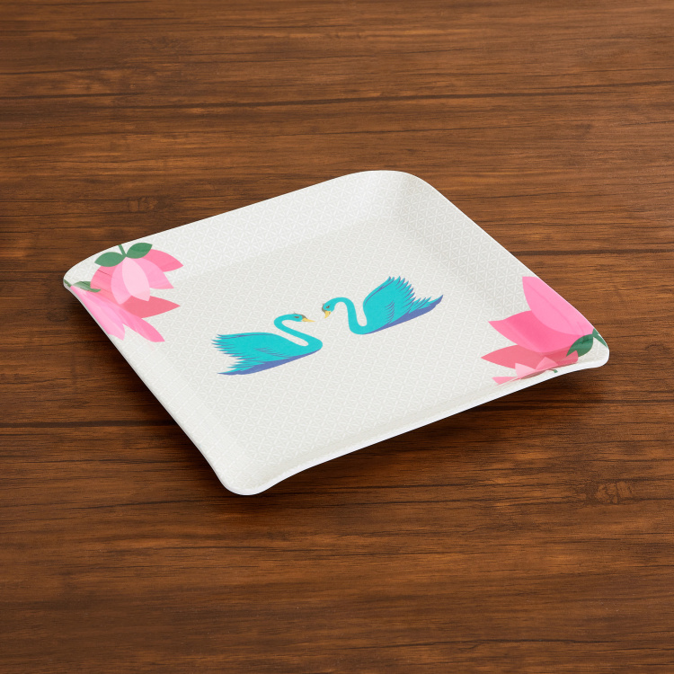 Raisa Retro Printed Serving Tray