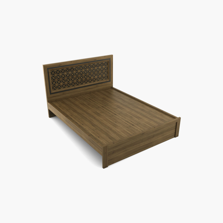 Quadro  Craft Queen Size Bed without Storage - 150 x 195 cm
