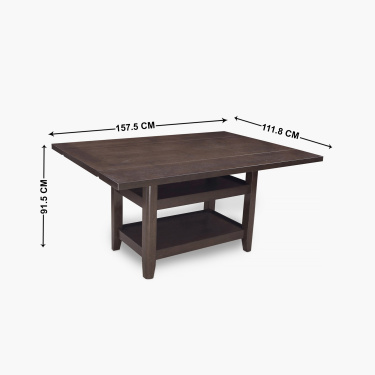 Uptown 6-Seater Dining Table Set with 6 Chairs