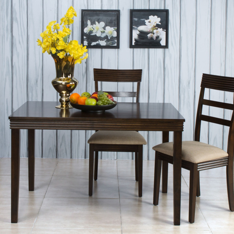 Erin 4-Seater Dining Table Set with Chairs
