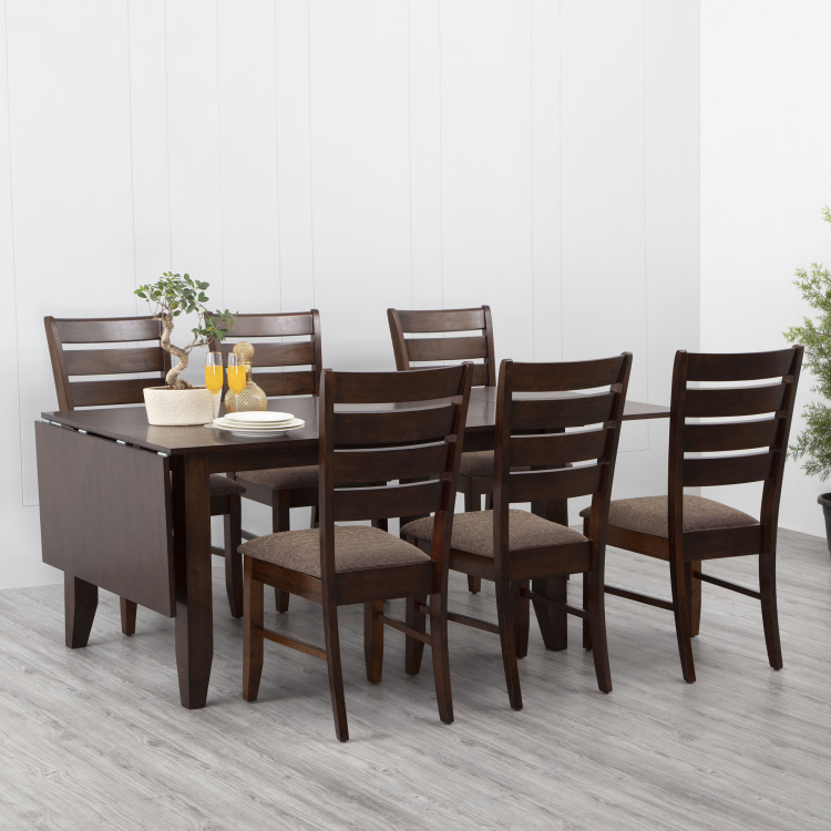 Butterfly 8-Seater Extentable Dining Table Set with 6 Chairs