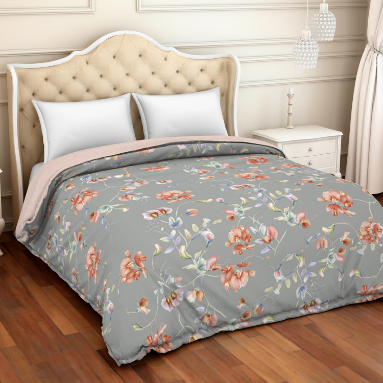 SPACES Organic Printed Double Bed Comforter - 224 x 270 cm