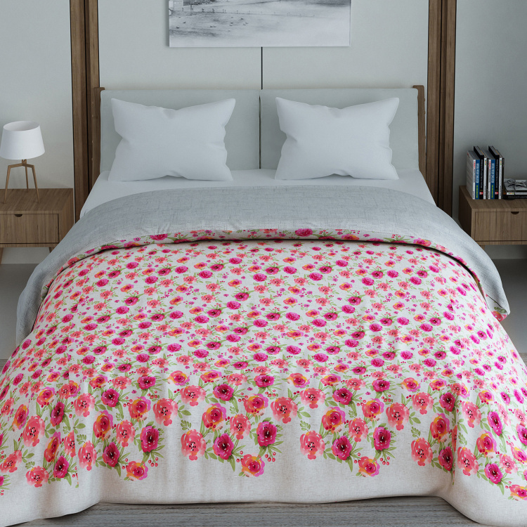 SPACES Bonica Floral Print Double Comforter - 224 x 270 cm