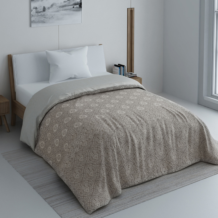 SPACES Maxima Printed Single Comforter - 218 x 150 cm