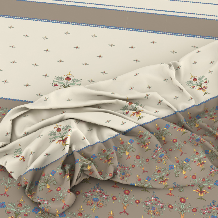 SPACES Maxima Printed Single Bed Comforter - 150 x 218 cm