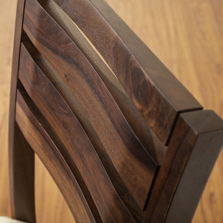 Veda Sheesham Wood Dining Chairs - Set of 2 Pcs.