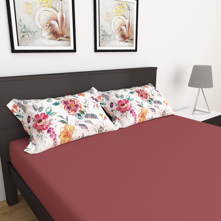My Bedding 3-Pc. Solid Double Bedsheet Set - 228 x 274 cm
