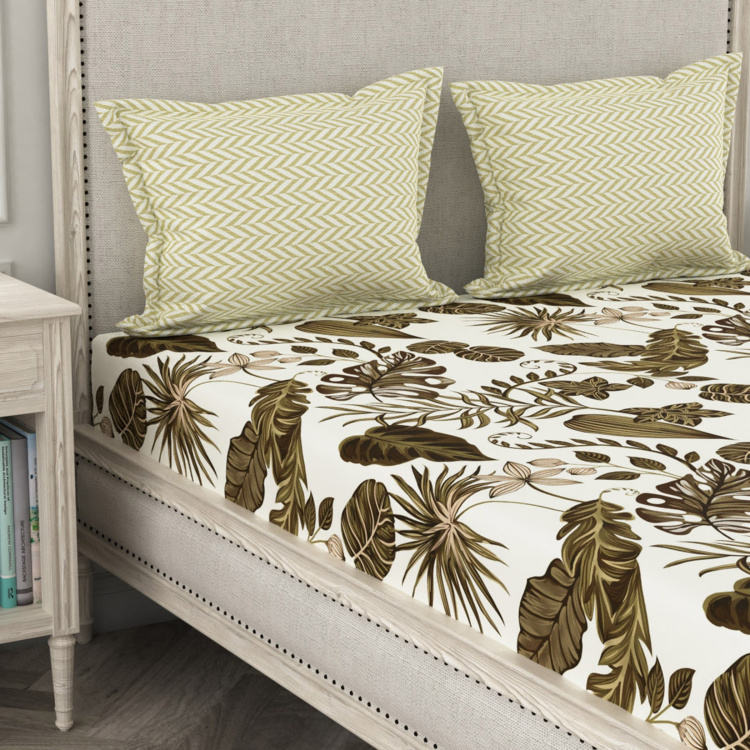 PORTICO NEW YORK House Of Misu 3-Pc. Super King Bedsheet-274 x 274 cm