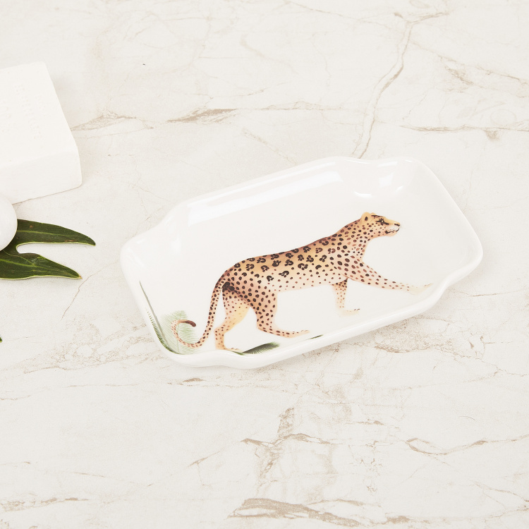 Wilderness Printed Ceramic Soap Dish