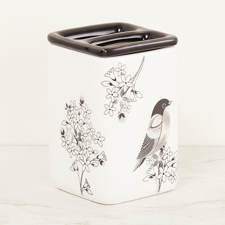 Mandarin Ceramic Tooth Brush Holder