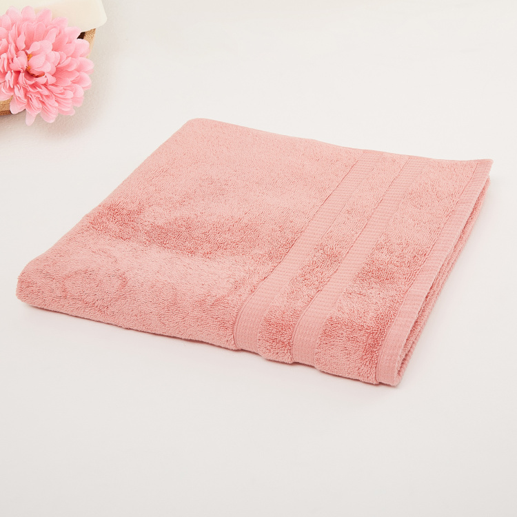 Organic Plush Solid Bath Towel- 70 x 140 cm