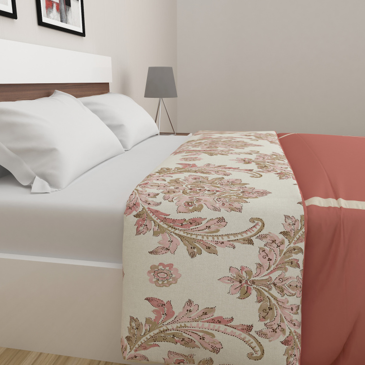 Classic Printed 3-Piece Double Bed Coverlet Set - 228 x 254 cm