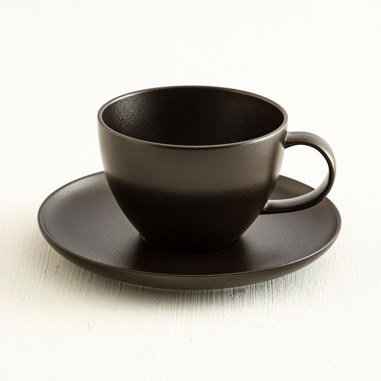 Altos Sand Fine Solid Cup and Saucer