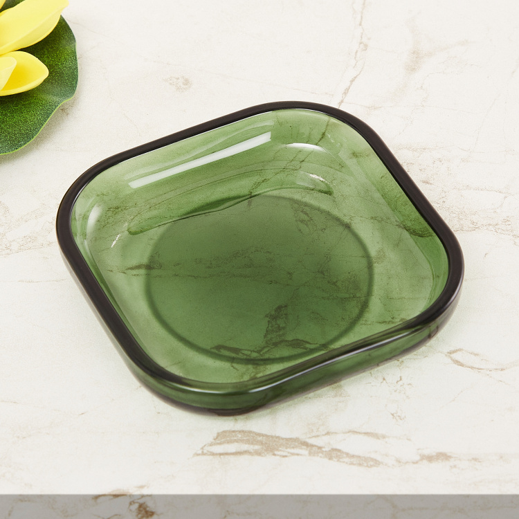 Wilderness Solid Glass Soap Dish