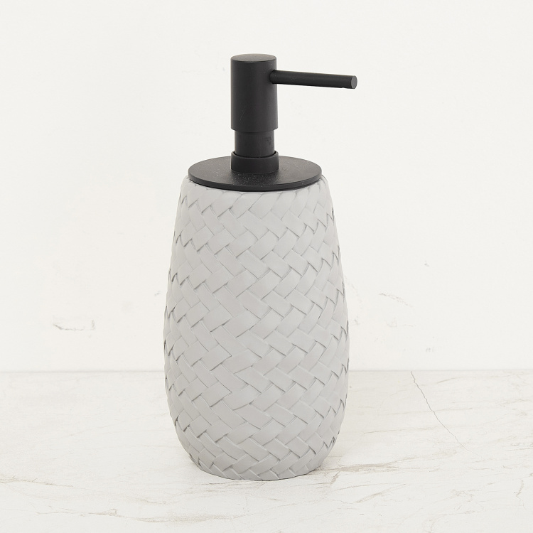 Marshmallow Weave Textured Soap Dispenser