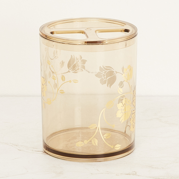 Timeless Treasure Printed Toothbrush Holder