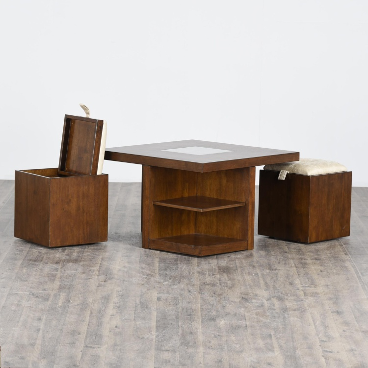 Harmony Coffee Table with Stools