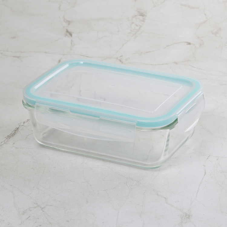 Korobka-Brooklyn 3-Piece Glass Container Set with Lunch Bag - 330ml