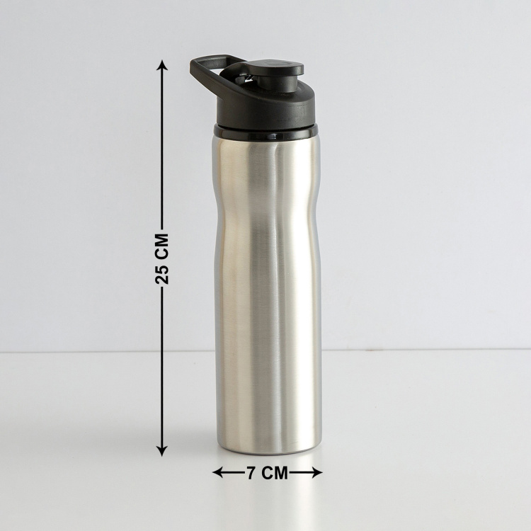 Atlantis Singlewall Stainless-Steel Flip Top Lid Water Bottle - 750 ml