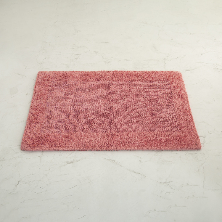Organic Plush Solid Bathmat - 45 x 70 cm