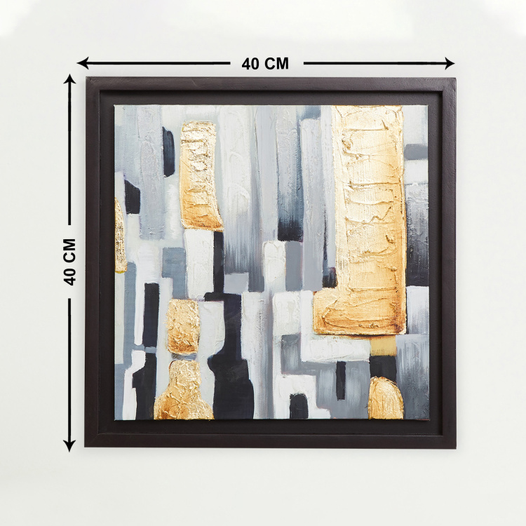 Mezzuna Abstract Picture Frame - 40 x 40 cm
