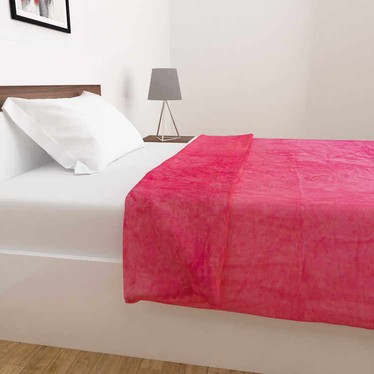 Colour Connect Solid Single Bed Blanket - 135 x 200 cm