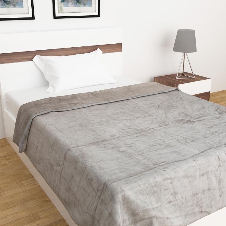Marshmallow Textured Sinlge-Bed Blanket - 135 x 200 cm