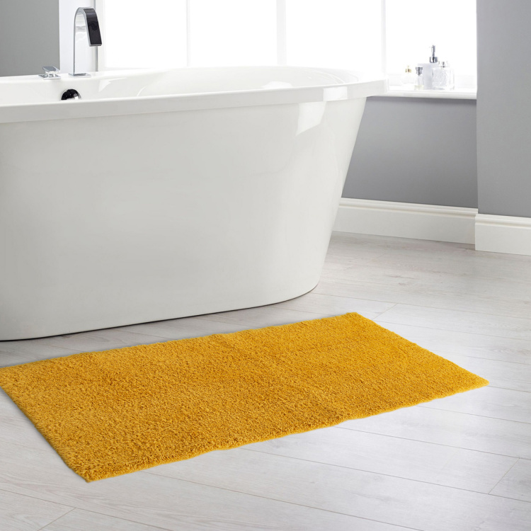 Colour Connect Solid Bath Runner - 45 x 130 cm