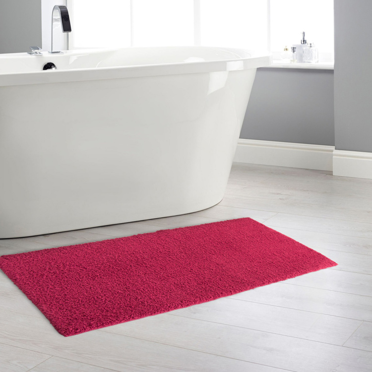 Colour Connect Textured Bath Runner - 45 x 130 cm