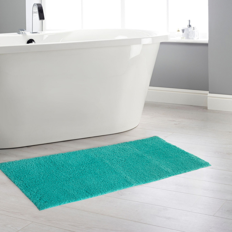 Colour Connect Solid Bath Runner - 46 x 130 cm