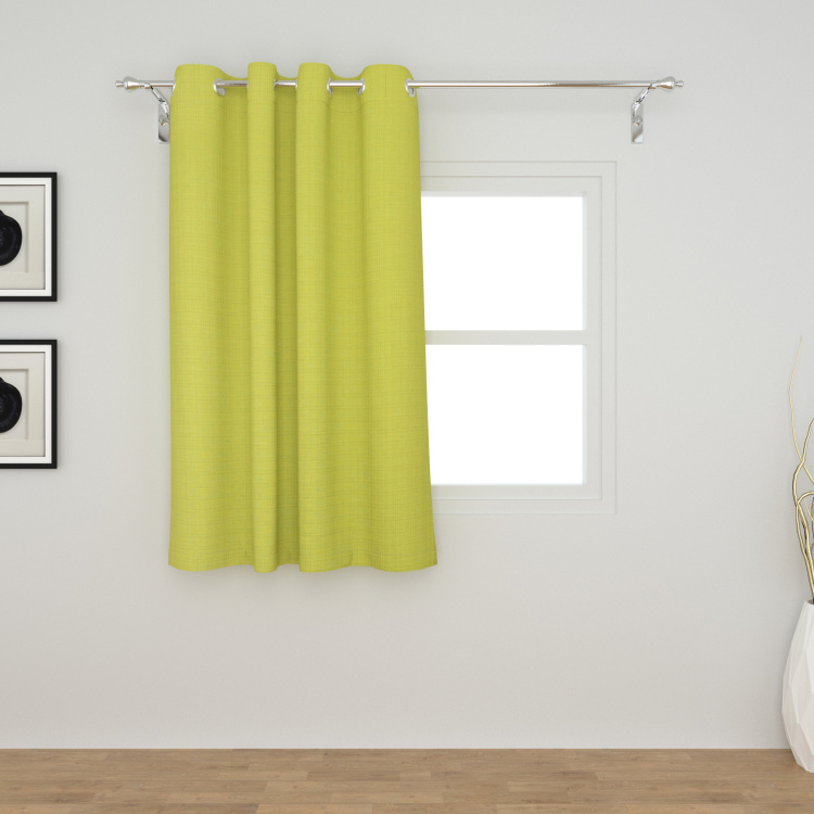Colour Connect Textured Window Curtain - 110 x 160 cm