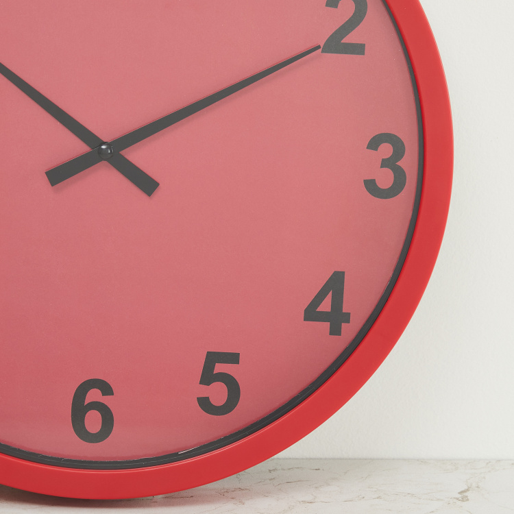 Colour Connect Solid Wall Clock