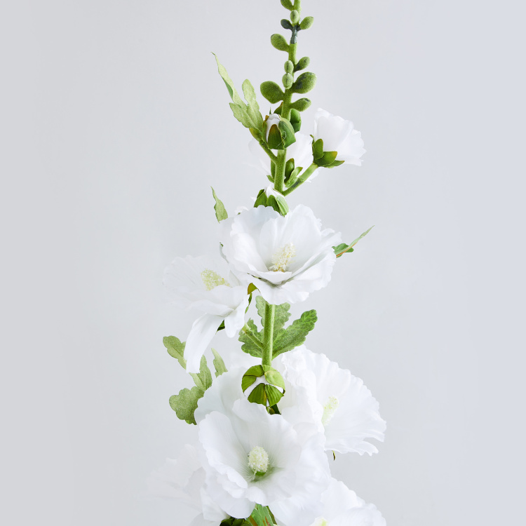 Botanical Artflower Artificial Hollyhock Flower