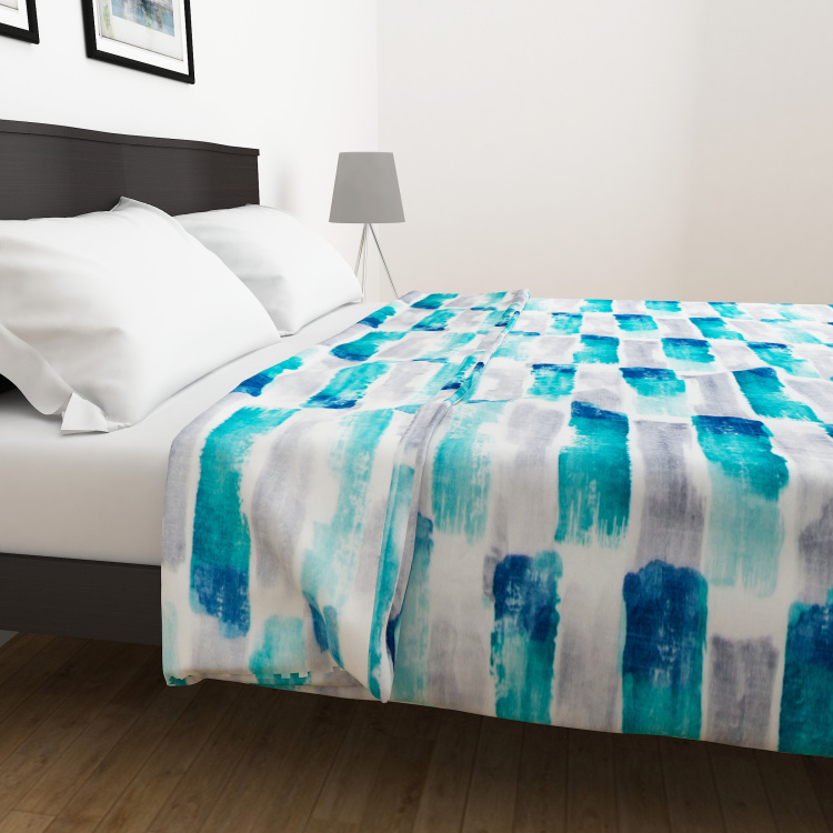 Everyday Essentials Dyed Single-Bed Blanket - 135 x 200 cm