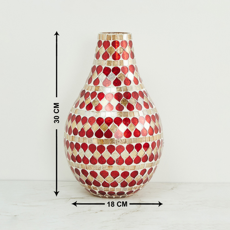 Galaxy Mabel Vase with Mosaic Texture