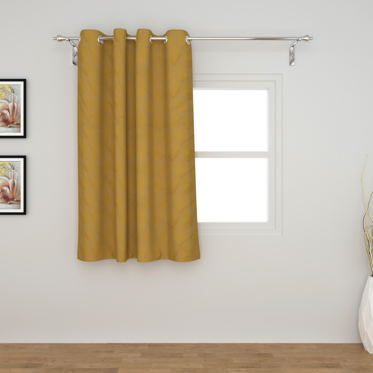 Jade Printed Semi-Blackout Window Curtain - 110 x 160 cm