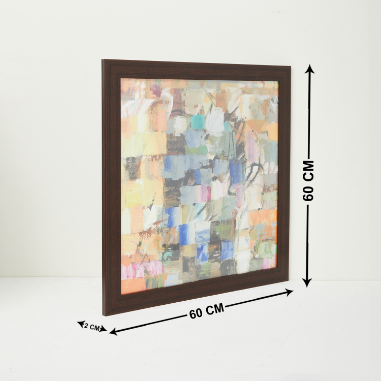 Artistry Safed Abstract Picture Frame - 60 x  60 cm
