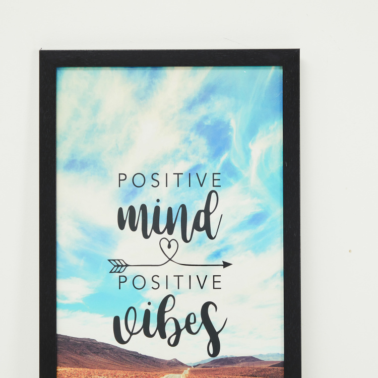 Axiom Positivity Quote Frame - 30 x 50 cm