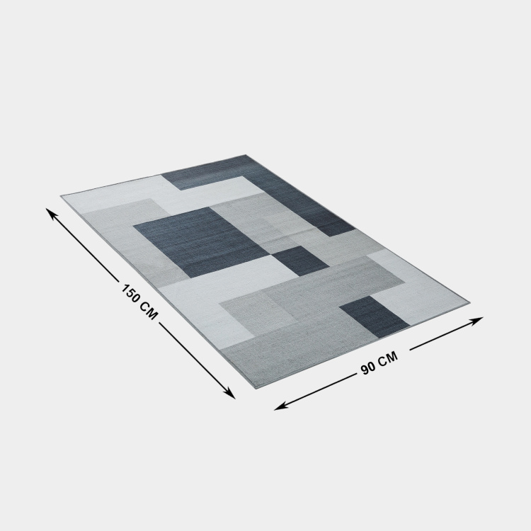 Alice Portable Textured Foldable Rug - 90x150 cm