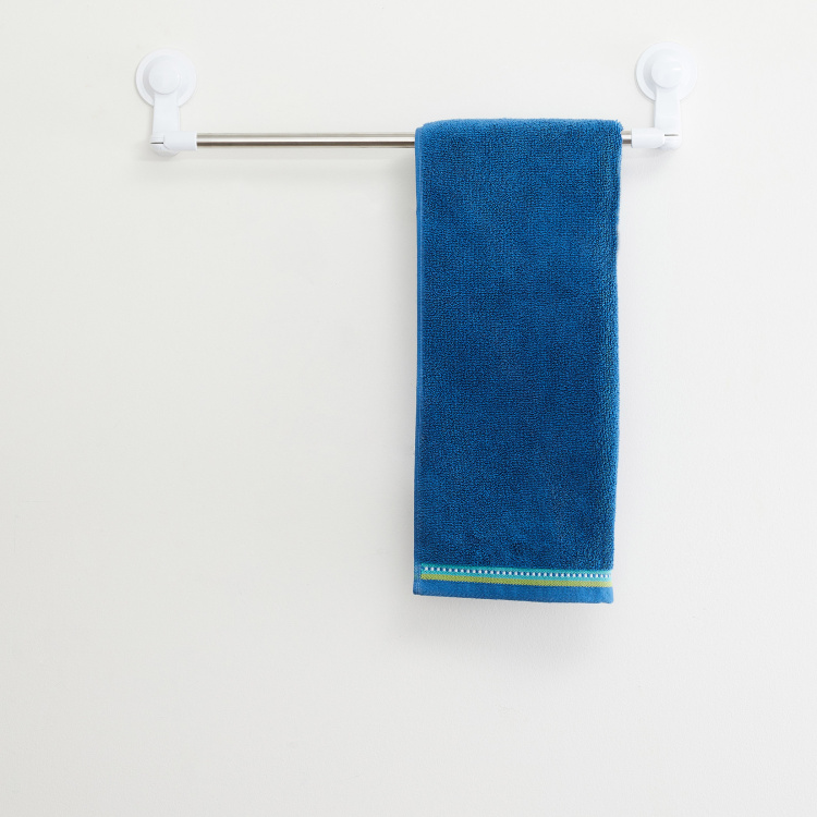 Medley Solid Hand Towel with Border - 40 x 60 cm