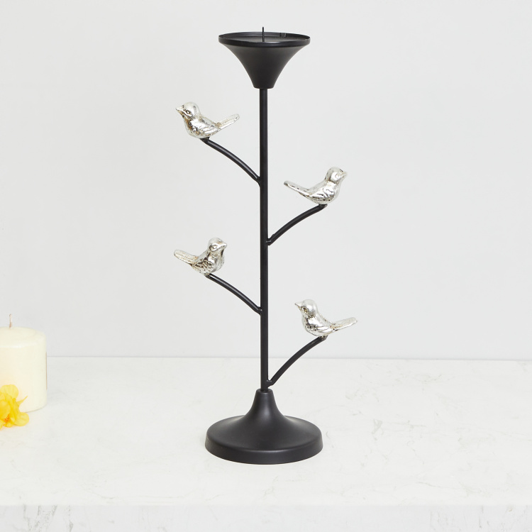 Galaxy Bird Accent Candle Holder