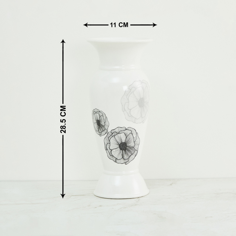 Galaxy Floral Decal Candle Holder