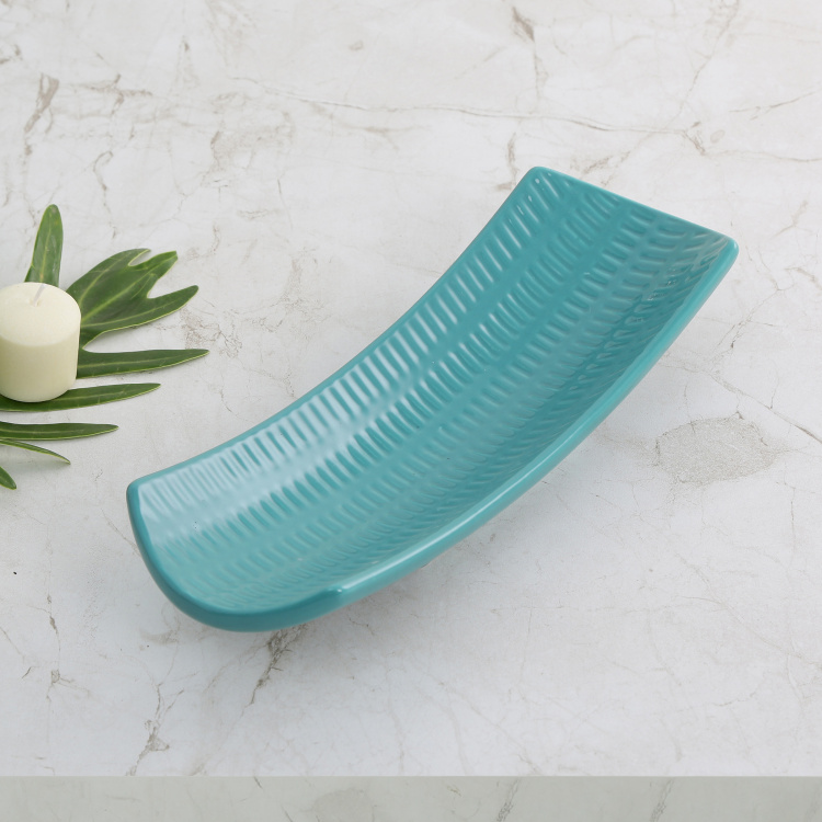 Colour Connect Embossed Decorative Platter